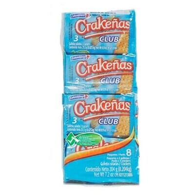COLOMBINA CRAKENAS GALLETAS SAL CLUB 272GR
