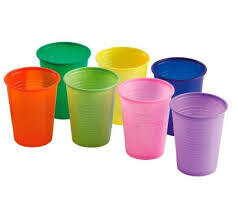 VASO DESECHABLE COLORES SURTIDOS 30PACK 255ML UBL REF-OD0050