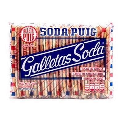 PUIG SODA ENRIQUECIDA GALLETAS 240GR