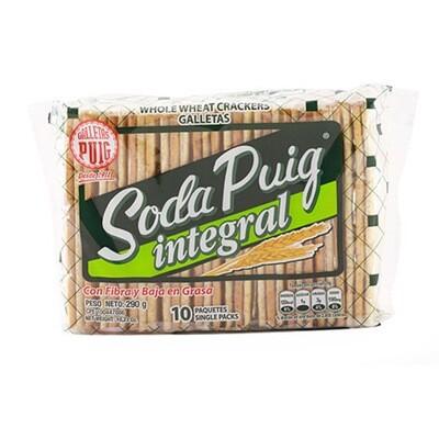PUIG SODA INTEGRAL GALLETAS  290GR