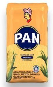 PAN HARINA DE MAIZ AMARILLA 1KG