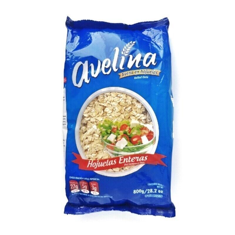 AVELINA AVENA HOJUELAS ENTERA 800GR1