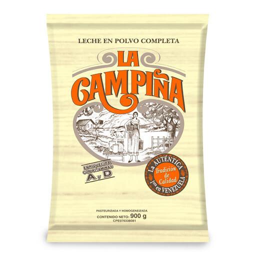 LA CAMPINA LECHE COMPLETA SOBRE 900GR