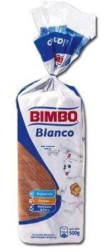 BIMBO PAN SANDWICH BLANCO 500gr