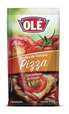 OLE SALSA DE TOMATE PIZZA POUCH 340GR