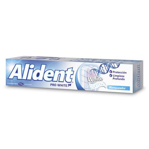ALIDENT CREMA DENTAL PRO WHITE 3XBLANQ 100GR