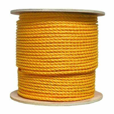 Rope-Yellow Polypropylene
