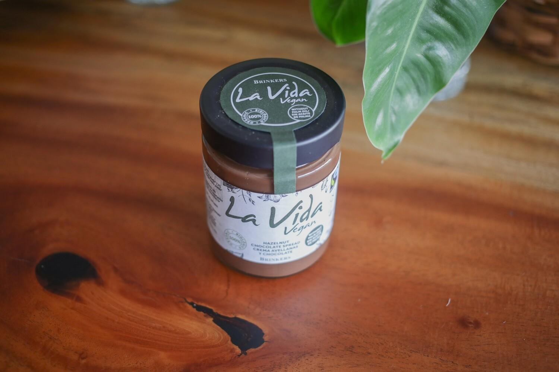 Crema vegana de chocolate con avellanas