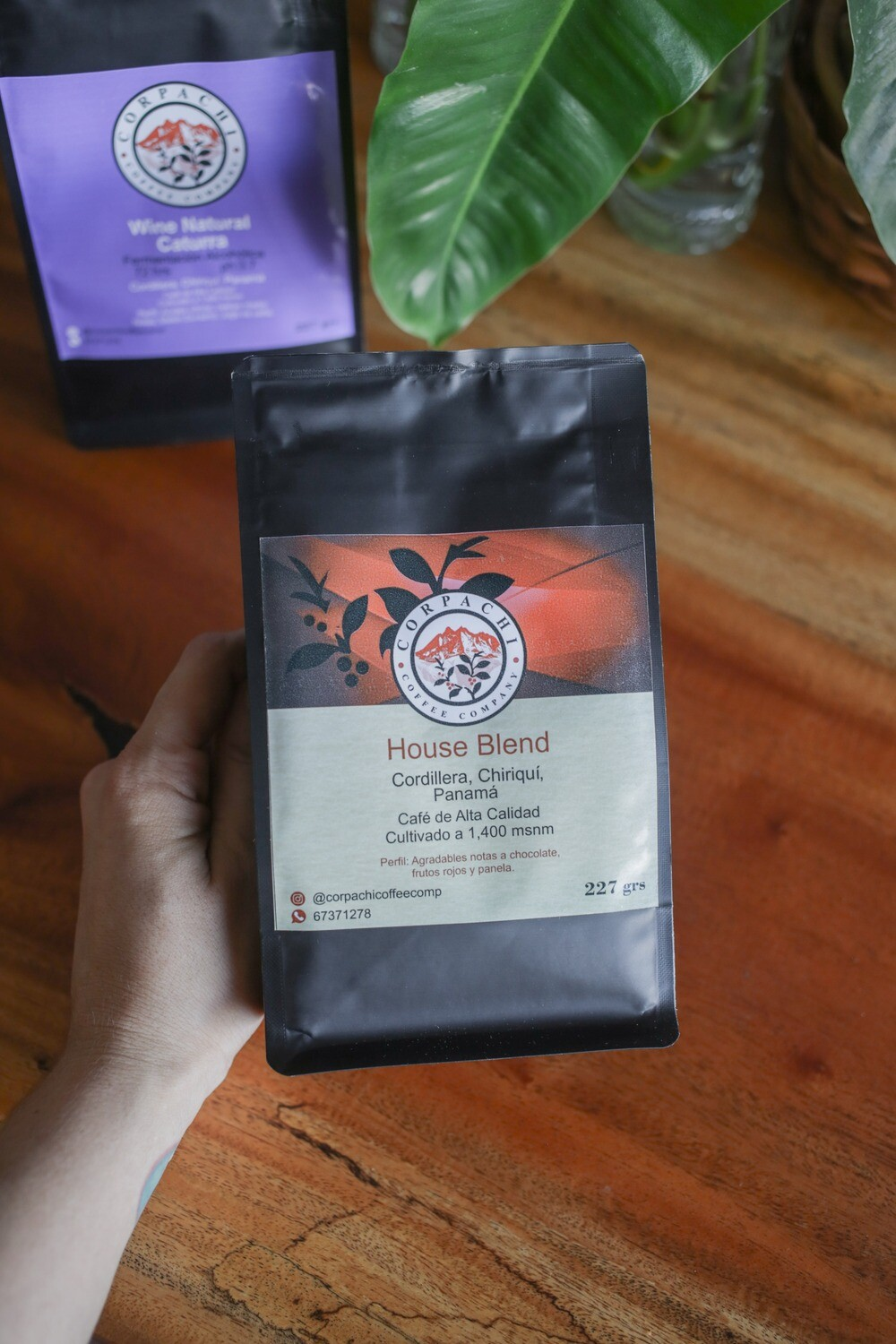 Specialty Coffee, Corpachi House Blend 227g