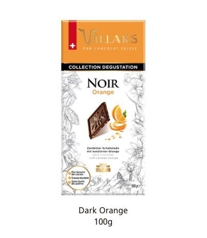 Villars Noir Orange