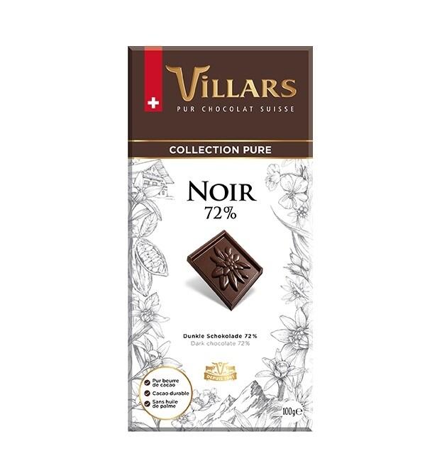 Chocolate Villars 72% Cacao