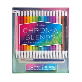 Ooly Chroma Blends Mechanical Water Color Pencils (set of 18)
