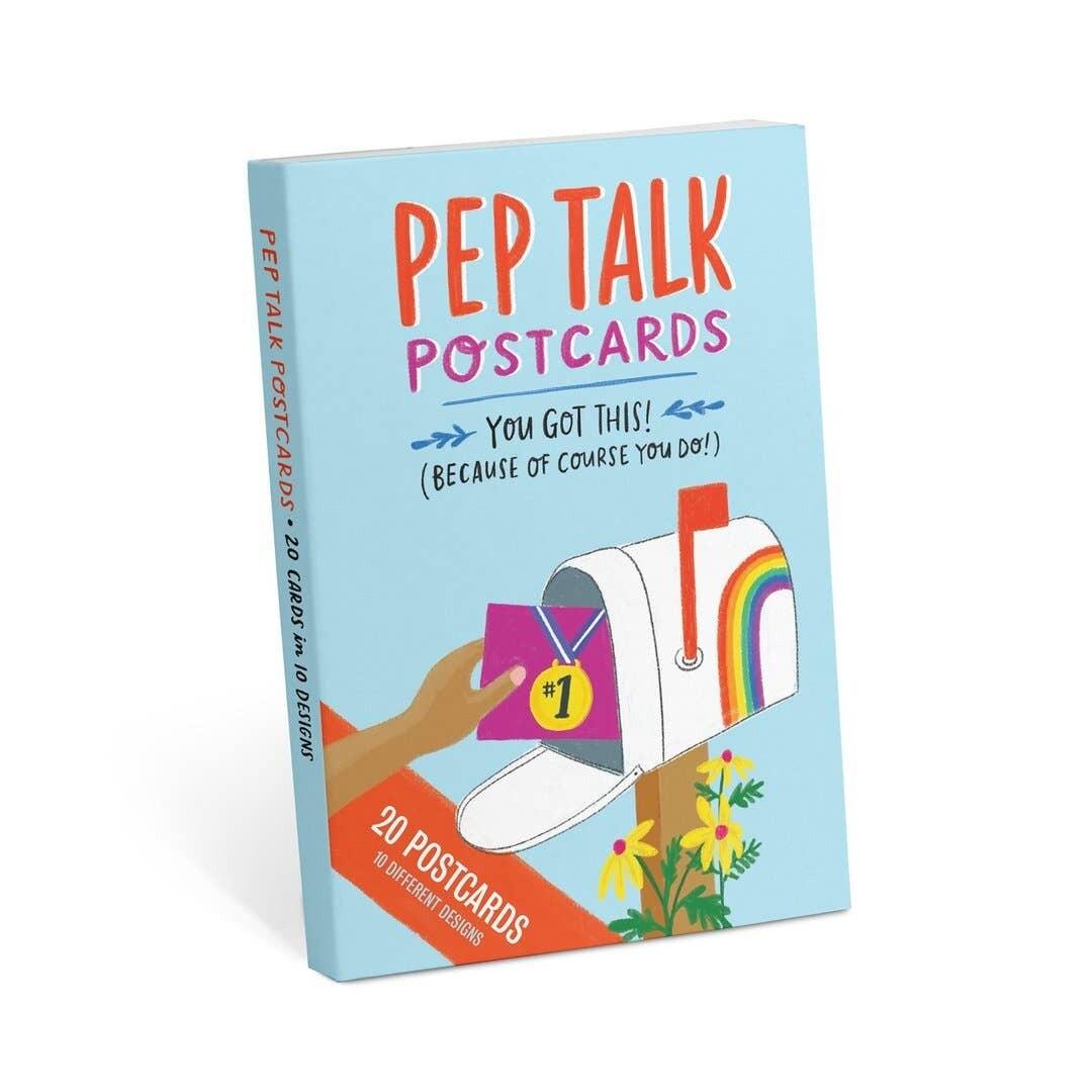 Postcard Set: Pep Talk