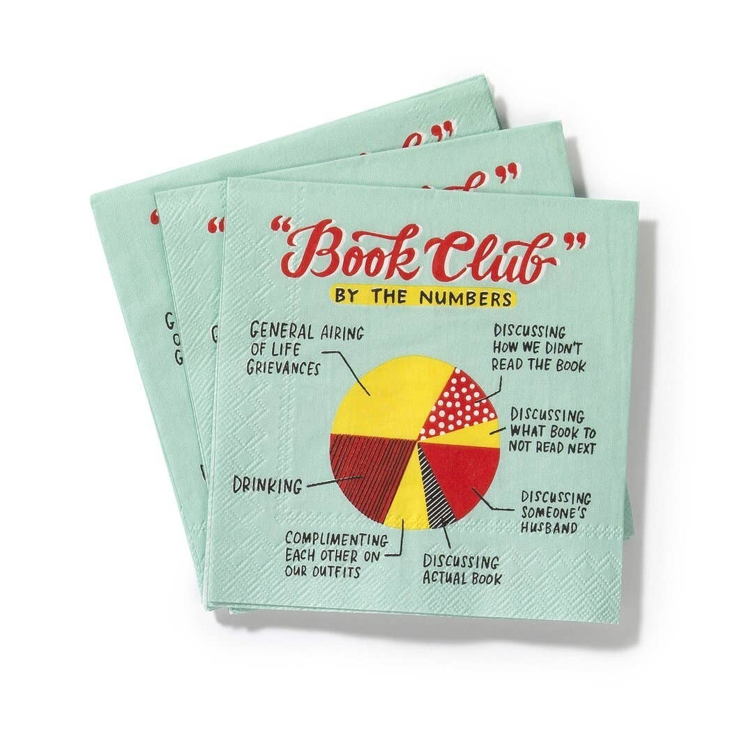Beverage Napkins: Book Club