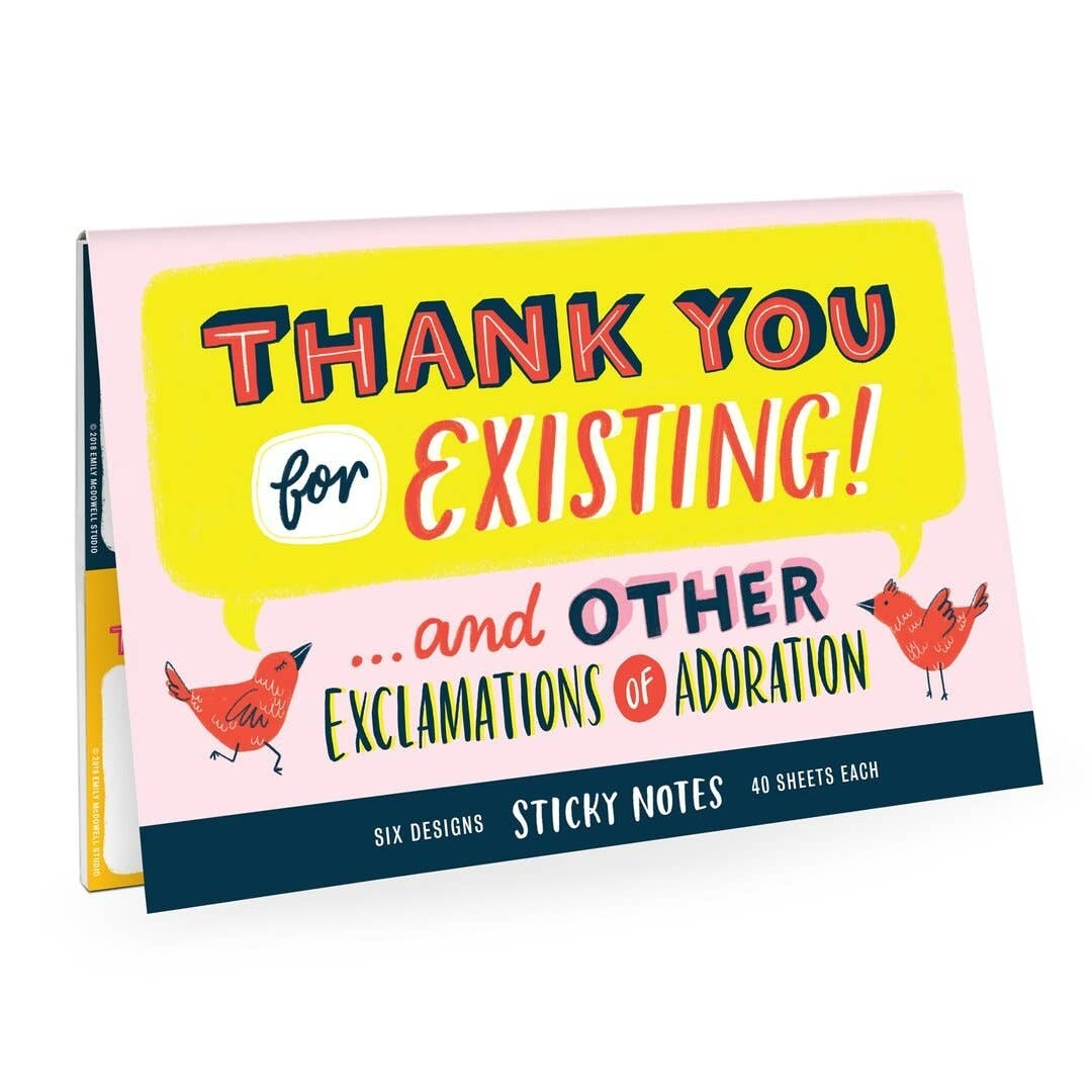 Sticky Notes: Thank You Stick Notes