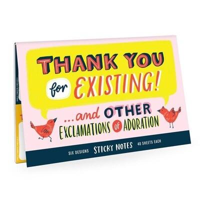 Sticky Notes: Thank You Stick Notes