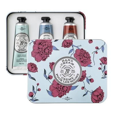 La Chatelaine Gift Set: Aqua Hand Cream Trio