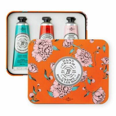 La Chatelaine Gift Set: Orange Hand Cream Trio