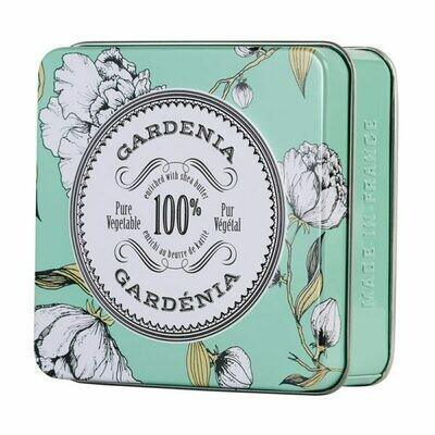 La Chatelaine Travel Soap Tin: Gardenia