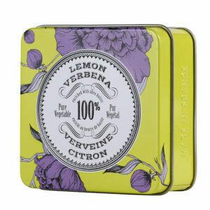 La Chatelaine Travel Soap Tin: Lemon Verbena