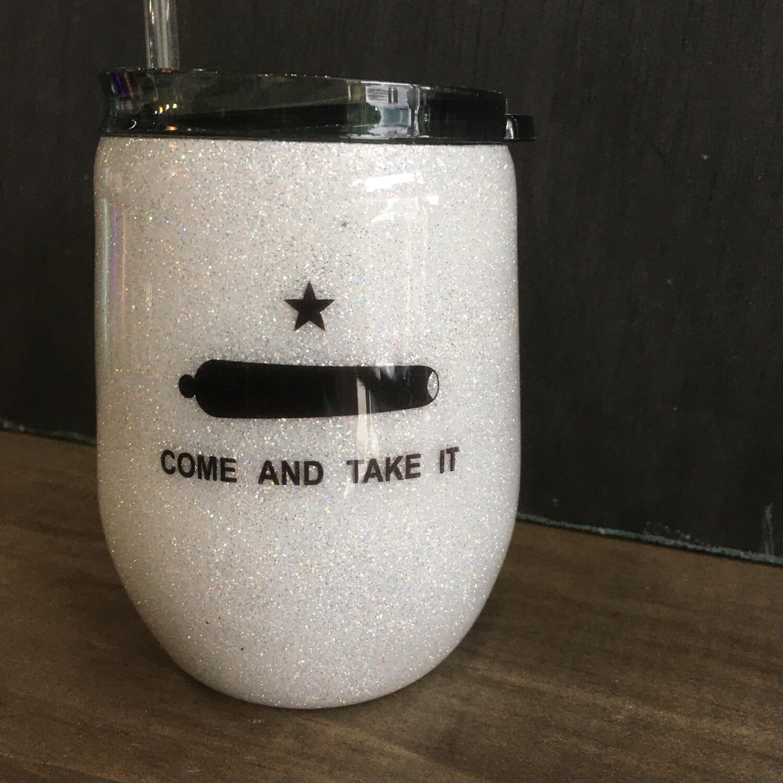 Sparkle Tumbler: Come & Take It