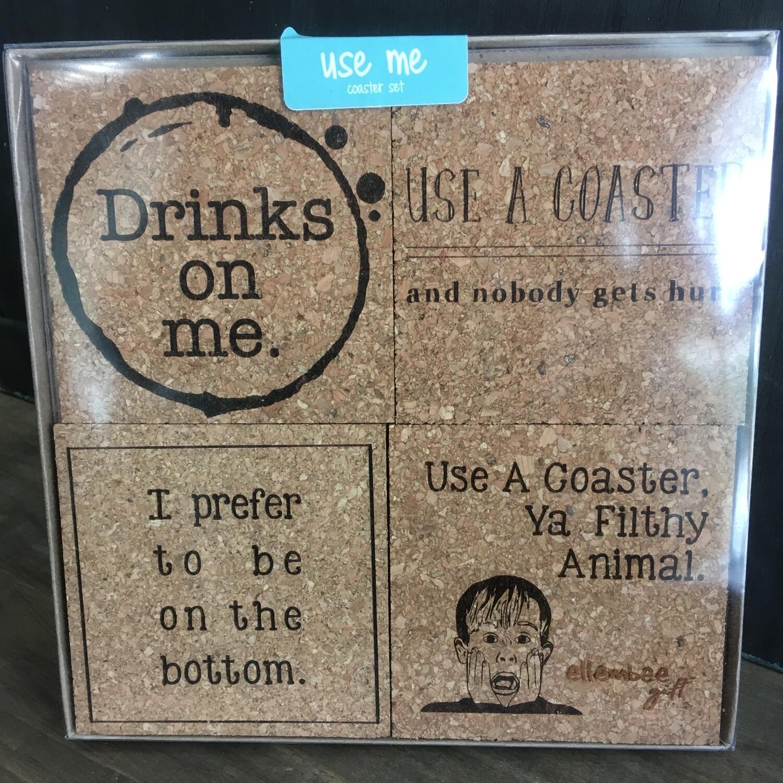 Coaster Set: Use Me