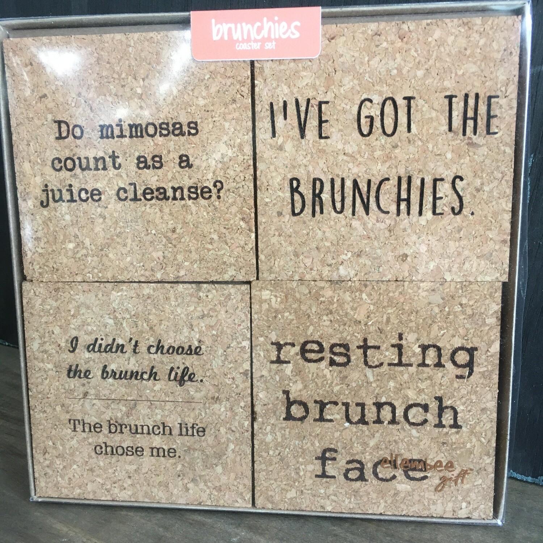 Coaster Set: Brunchies