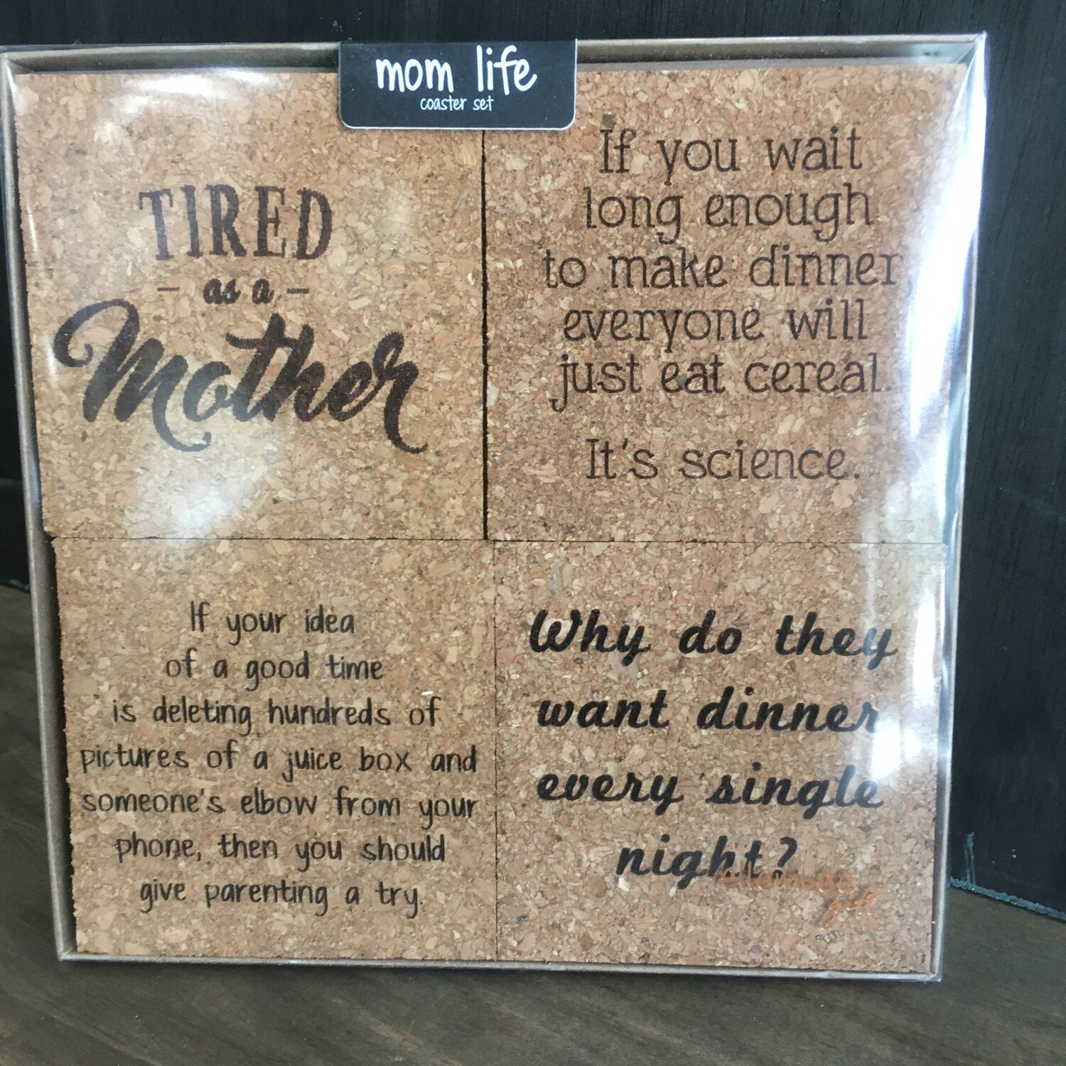 Coaster Set: Mom Life