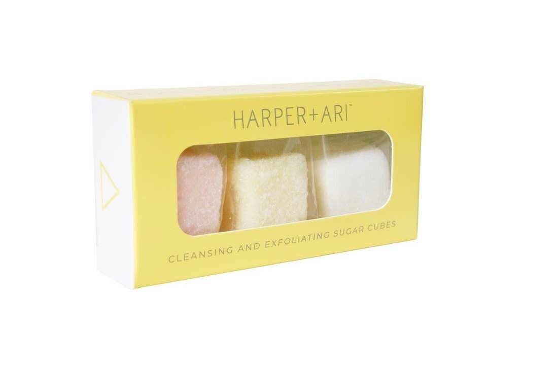 Harper & Ari 3-Cube Gift Set, Cleansing Sugar Cubes