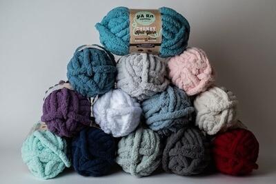 Chunky Knit yARn skein