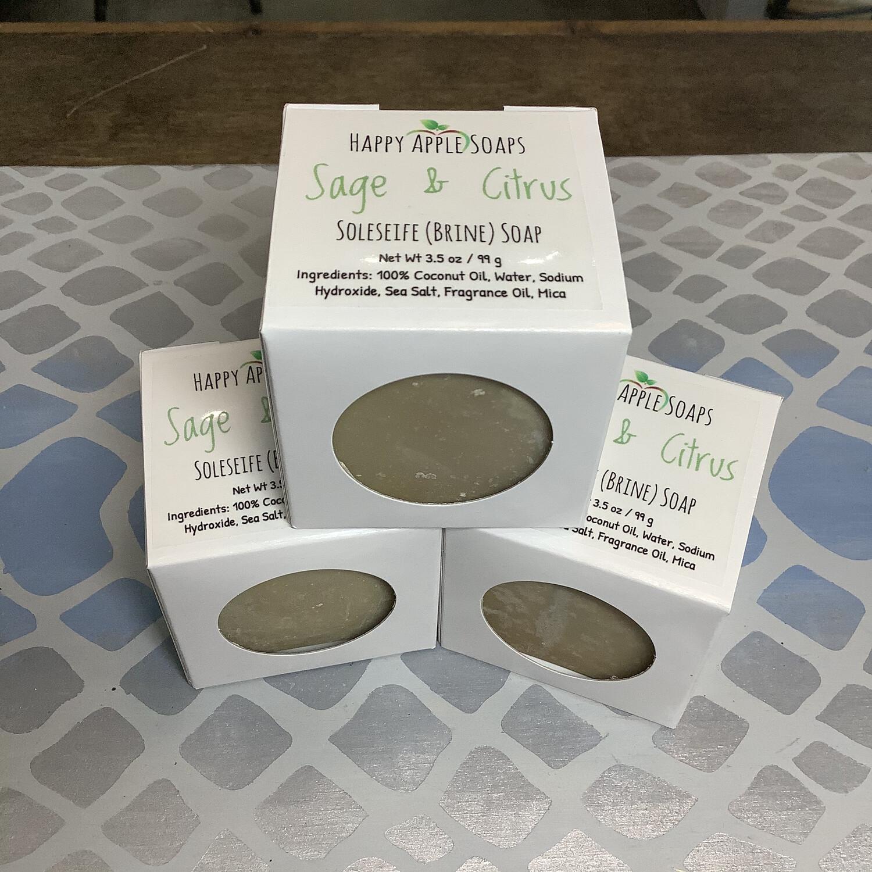 Happy Apple Brine Soap, 3.5oz Cube