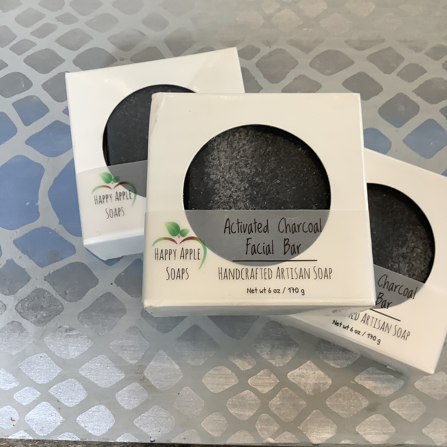 Happy Apple Charcoal Facial Bar