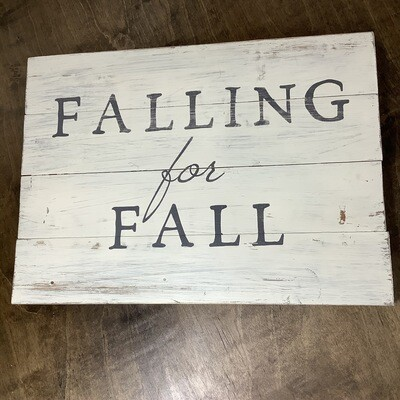 14x19 Plank: Falling For Fall