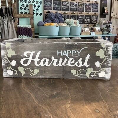 "16"" Centerpiece Box: Happy Harvest"