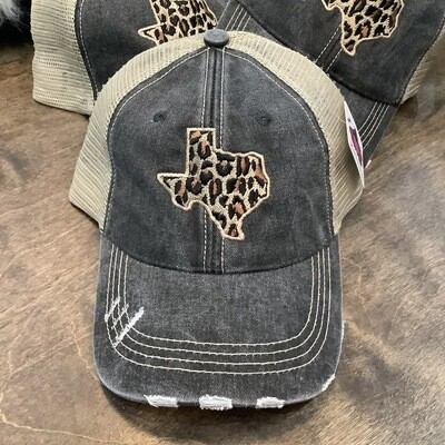 Texas Cheetah Trucker Cap