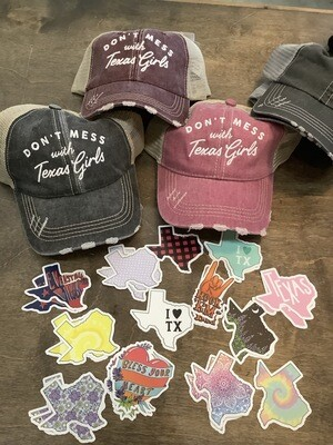 Don't Mess With Texas Ladies Trucker Cap