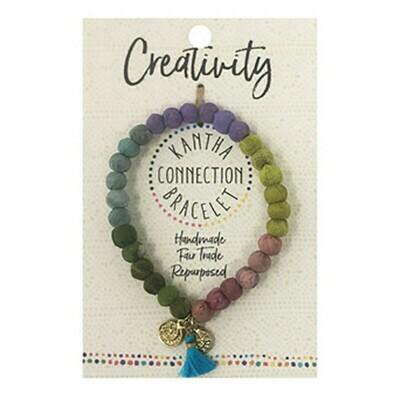 Kantha Creativity Bracelet