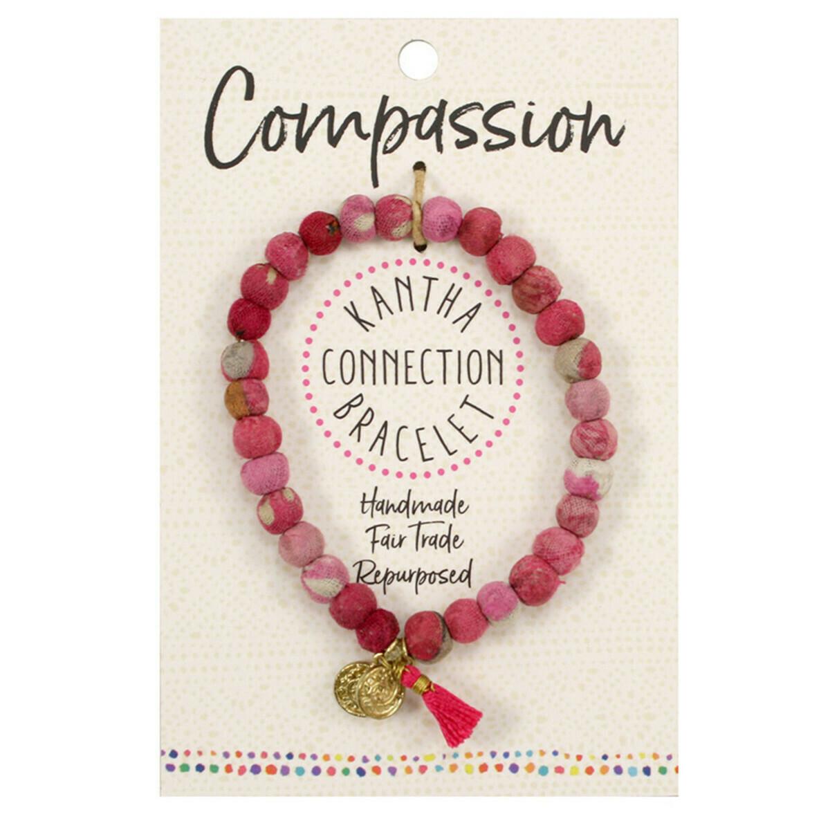 Kantha Compassion Bracelet