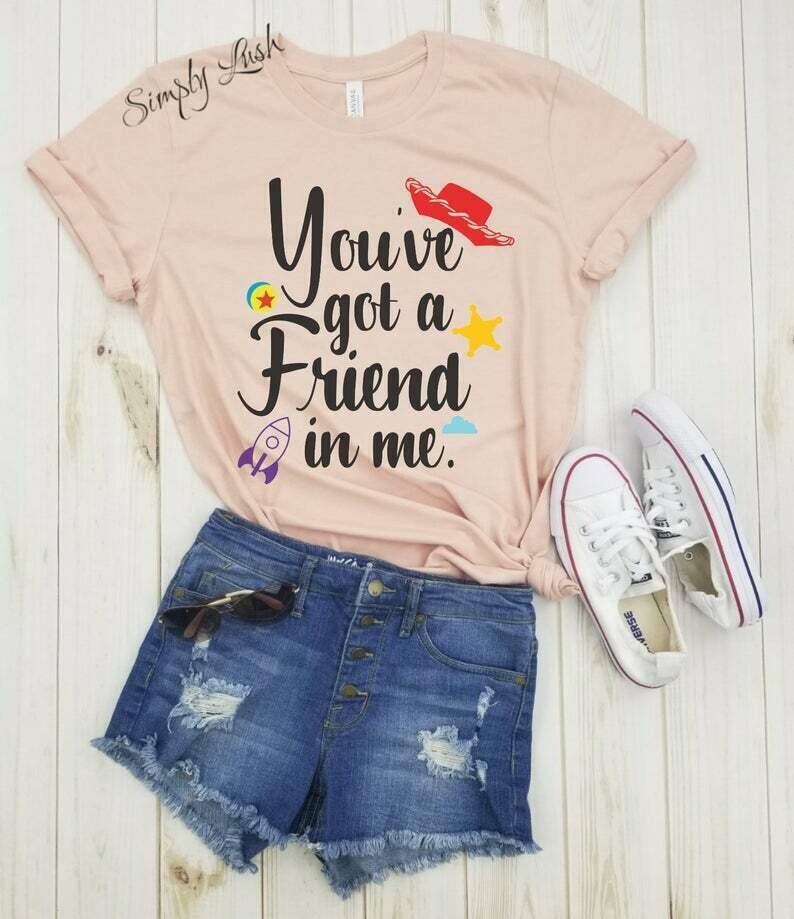 You've got a friend in Me PIXAR BALL - shirt, toy story inspired, toy story shirt, buzz lightyear, disney shirt, woody, disney vacation.