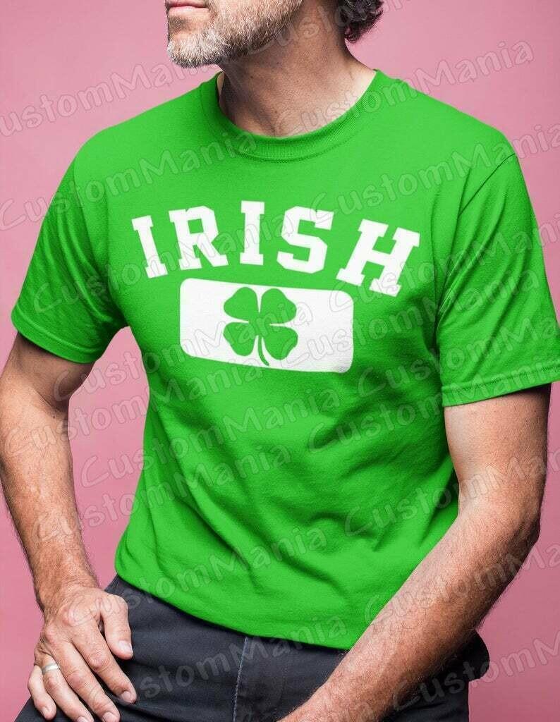 Shamrock Irish shirt, St Patricks Day Shirt, St Patricks Day Shirts, St Patricks Day Shirt Men, St Patricks Day Shirt Women, Irish, Clover