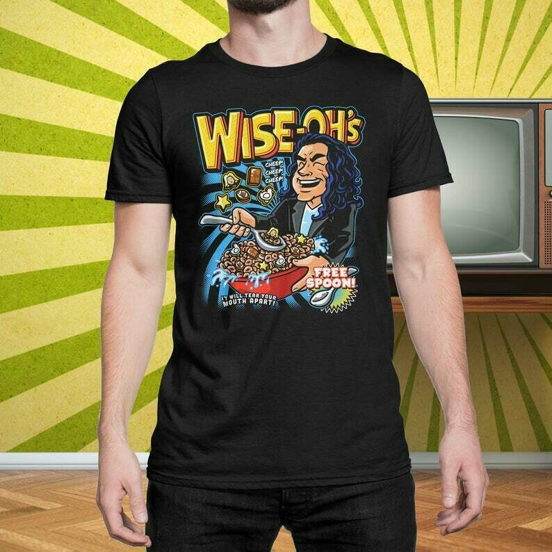 Wise Ohs - Oh Hi It Will Tear Your Mouth Apart - T-Shirt Movie Mashup Parody Shirt tee Shirt Mens Ladies Womens Youth Kids COD-0454