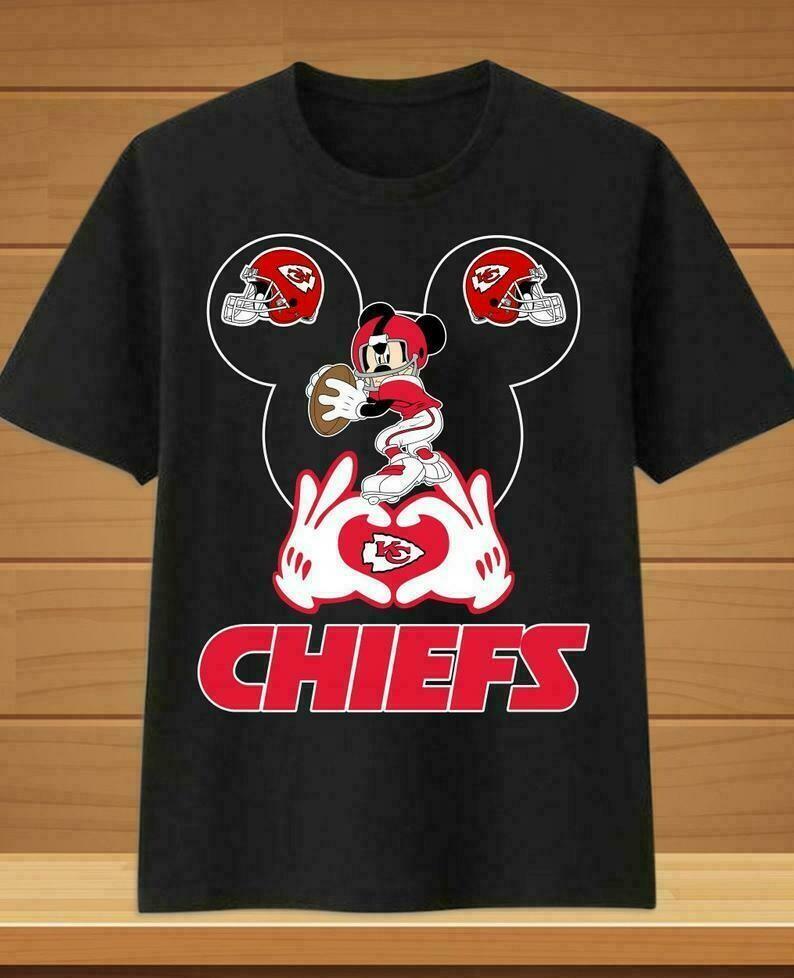 Mickey Disney Kansas City Chiefs Super Bowl 54 2020 LIV Champions February 2 2020 Miami Mahomes NFL Football Team Fan Gift T-Shirt