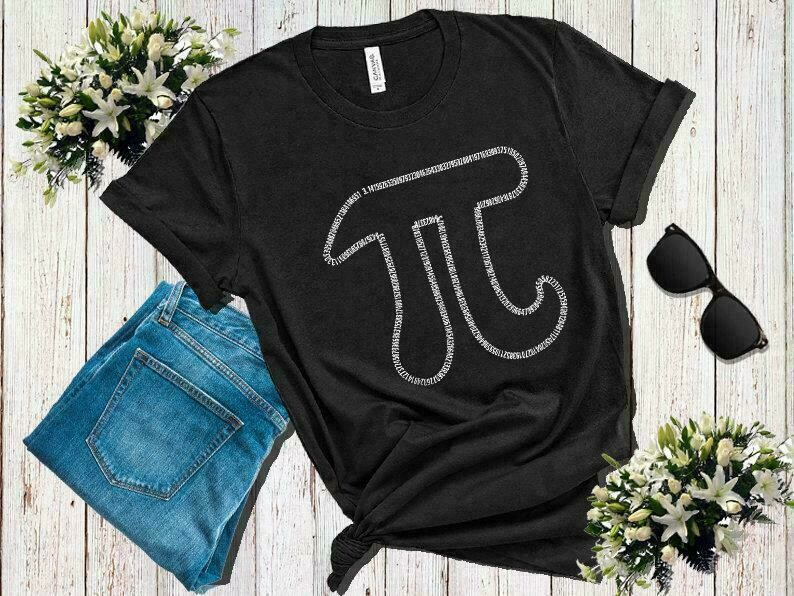 Pi Day Number 3.14159265359... Math 3.14 Funny T-Shirt, Pi Day Shirt, Pi Day, Math Teacher Shirt, Pi Shirt, Math Shirt, Funny Math Shirt