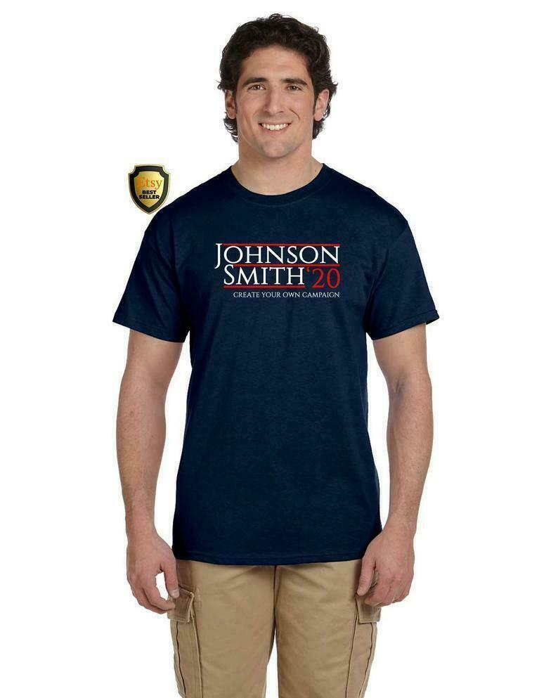Election 2020 Customizable Novelty Unisex T-Shirt Bachelor Gift Groomsman Gift, Customized President Shirt, Custom 2020 Shirt