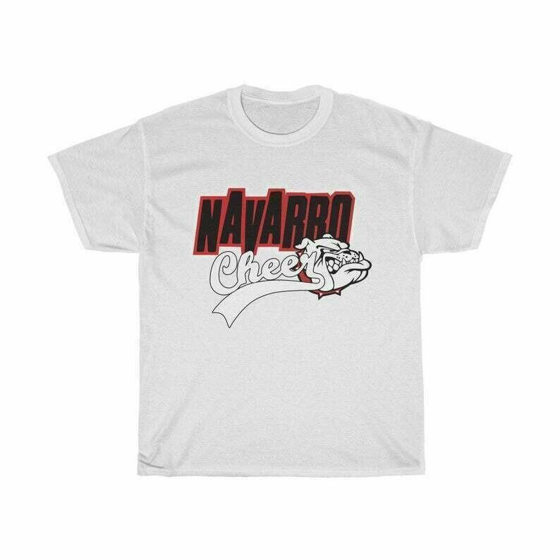 Navarro Cheer Tshirt Netflix Inspired Shirt Netflix and Cheer Shirt Cheerleading College Football Shirt