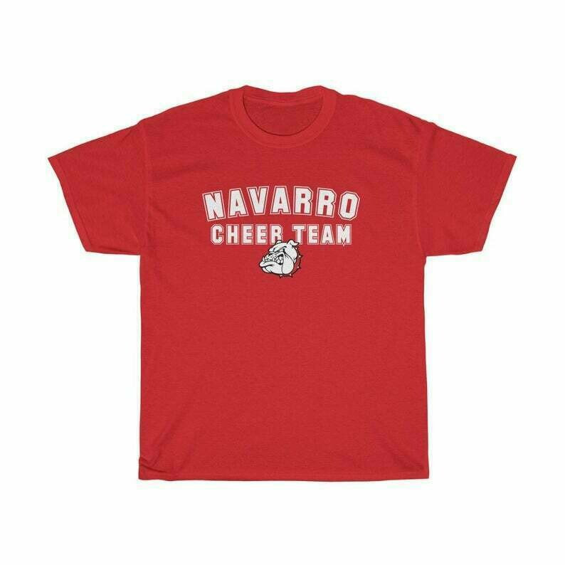 Navarro Cheer Team T shirt Netflix Inspired Shirt Netflix and Cheer Shirt Cheerleading College Football Shirt