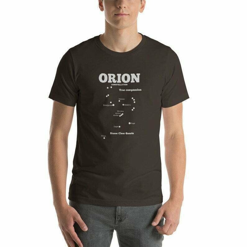 Orion Constellation Short-Sleeve Unisex T-Shirt Many Colours, Constellation