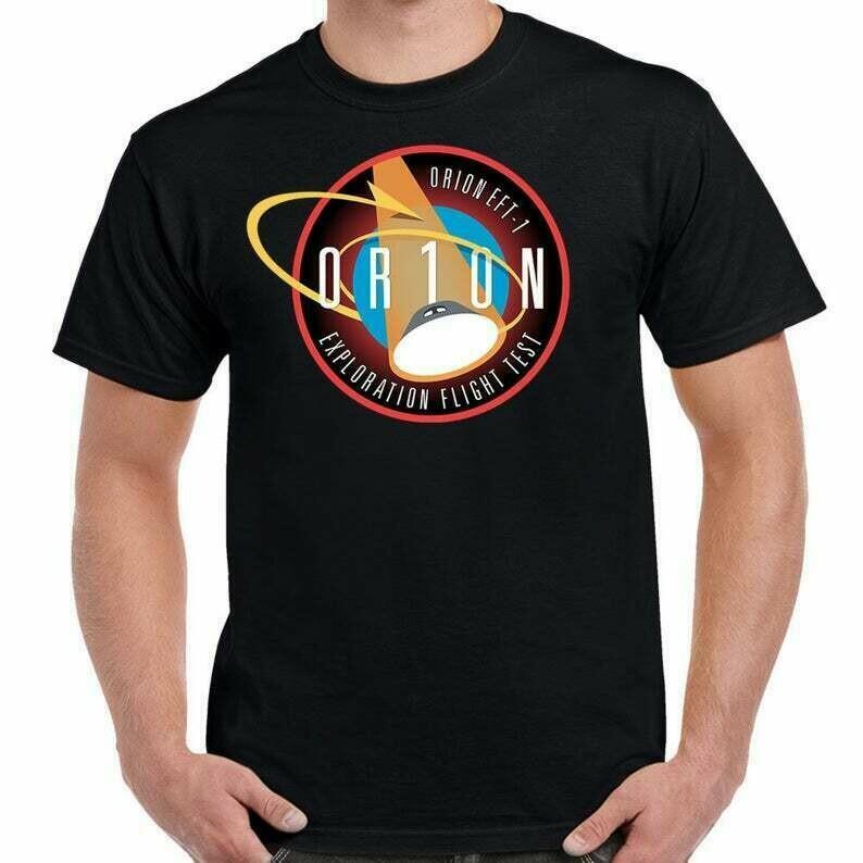 NASA Orion EFT-1 Patch Shirt