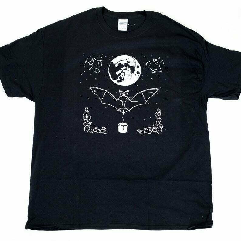 Summer Solstice T-Shirt - Screen Print on Black Shirt