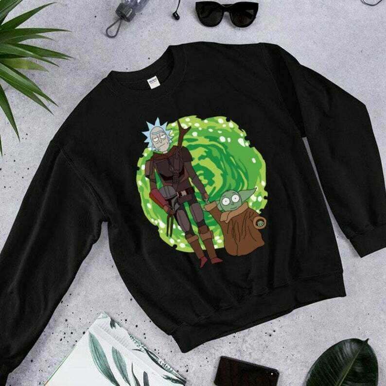 Friends Star Wars,Rick Morty And Baby Yoda Star Wars The Mandalorian The Child First Memories Floating Pod T-Shirt,Star Wars 2020 designs